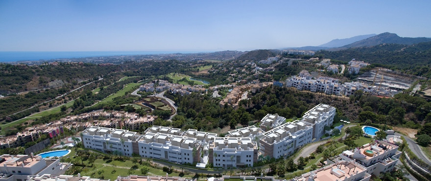 This newly built residential complex is located in one of the most exclusive areas of Benahavis: Sit, Spain