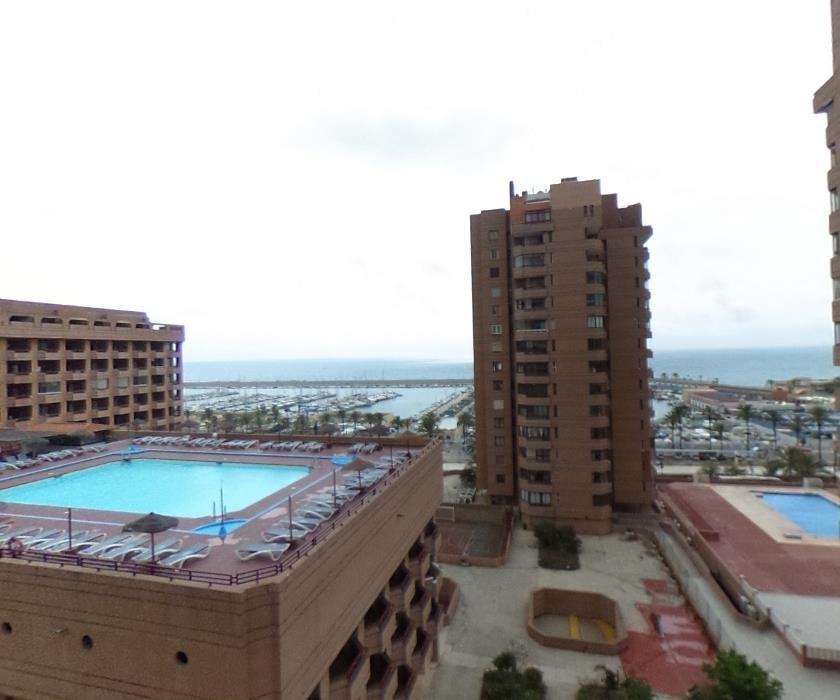 Holiday home or to live with open sea and beach views. It consists of a bedroom and a bathroom with ,Spain