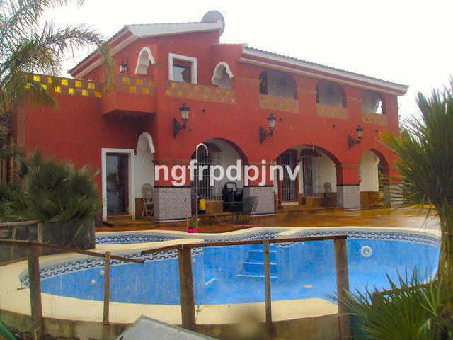 Two floors independent house with private swimming pool with jacuzzi and panoramic mountain views . ,Spain