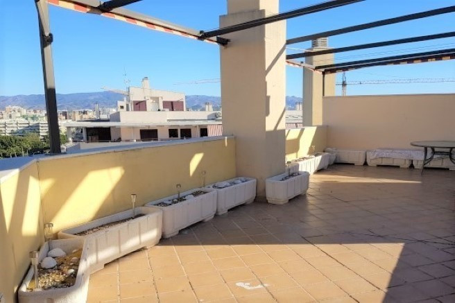 Penthouse near the beach in Malaga city! It offers two very large terraces, one at the level of the ,Spain