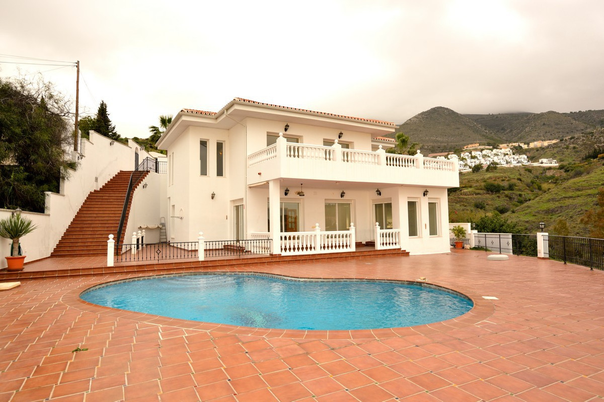 This luxury villa has breathtaking panoramic sea views and situated in a very quiet area in the very,Spain