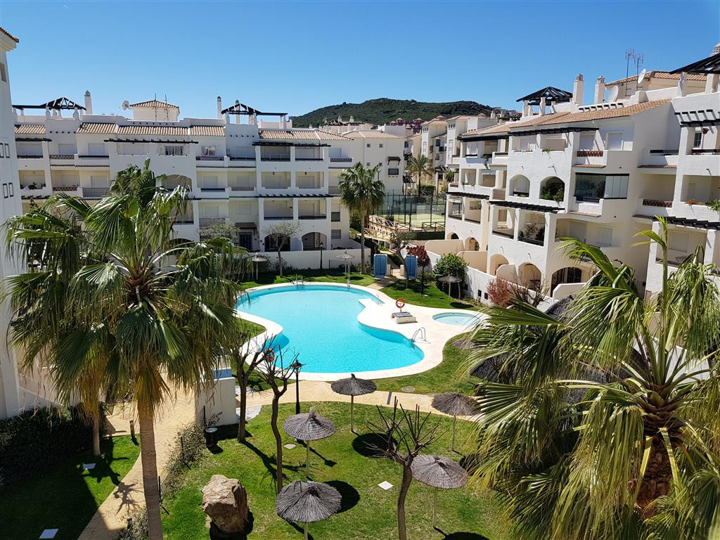Location, Location - Sunny south facing Corner penthouse with sea views and views overlooking the po, Spain