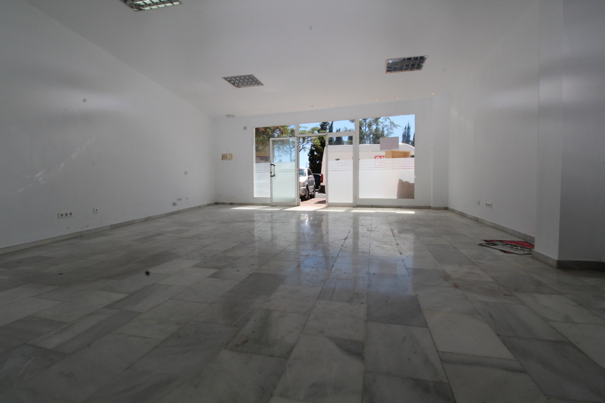 Shop for sale on one of the three main streets in Marbella. It has big windows facing the main stree,Spain
