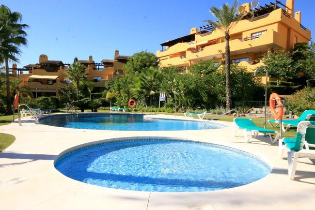 Very nice townhouse in a gated complex in Nagueles just 5 minutes from downtown Marbella , the beach,Spain