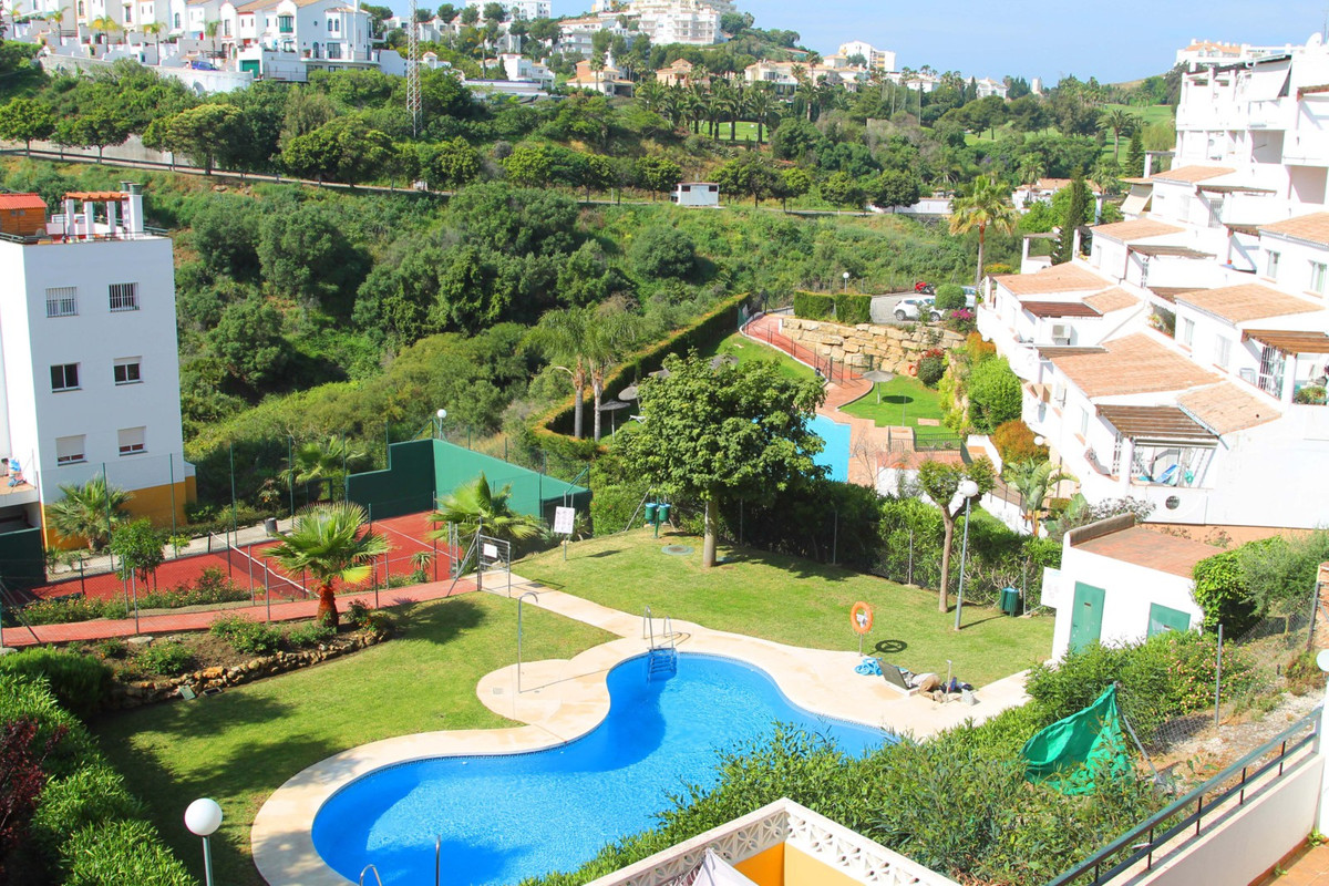 Excellent corner situated middle floor furnished 3 bedrooms, 2 baths apartment, located in Riviera d, Spain