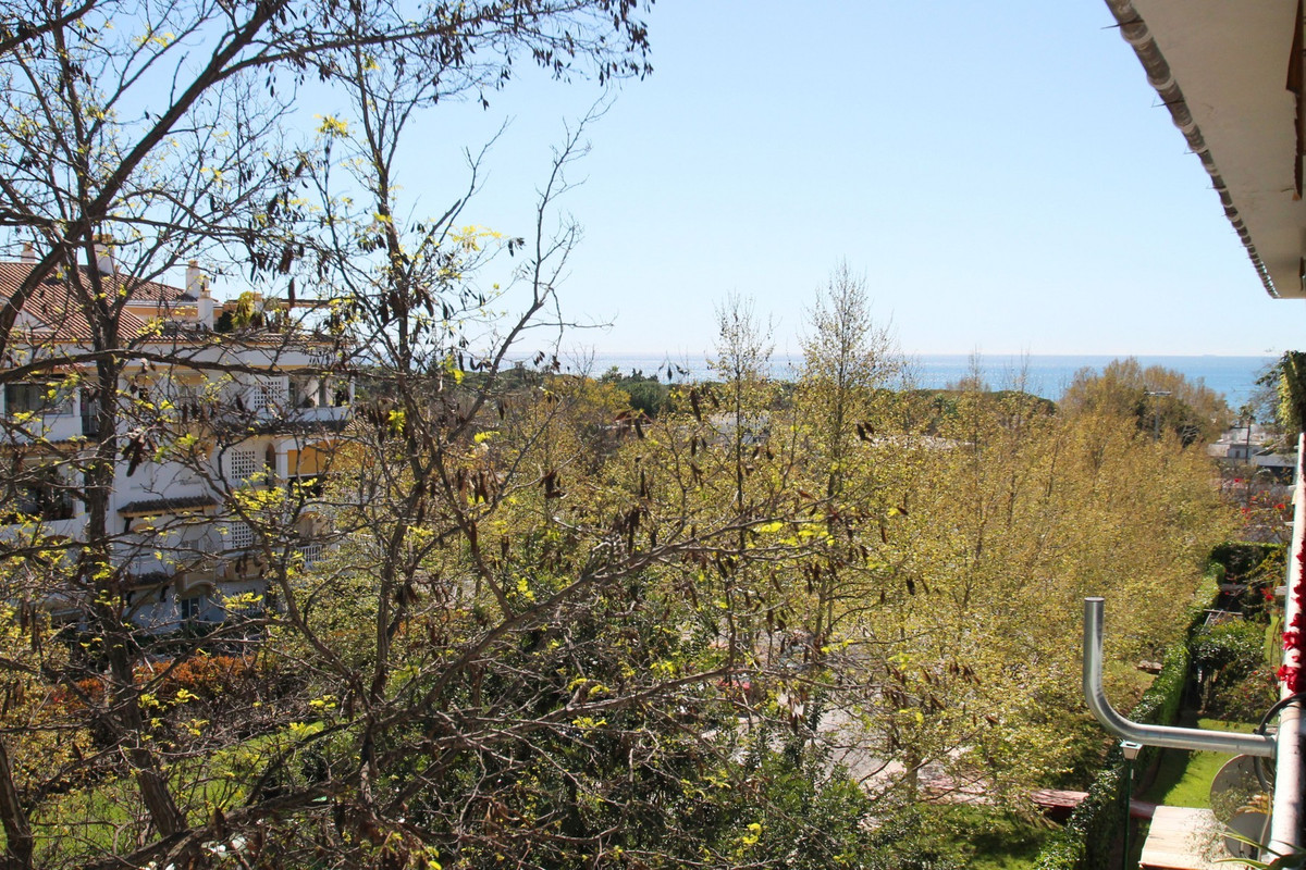 East facing two bedroom third floor apartment with sea views in La Carolina Park, in the heart of Ma, Spain