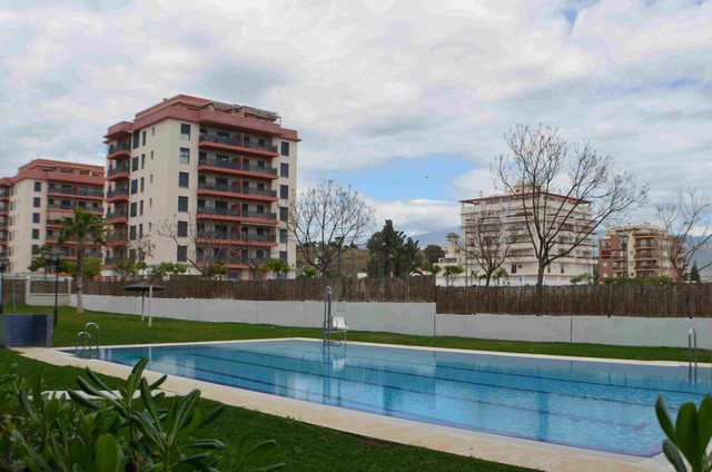 This west facing apartment located just 50 metres from the beach in a quiet area is located within w,Spain