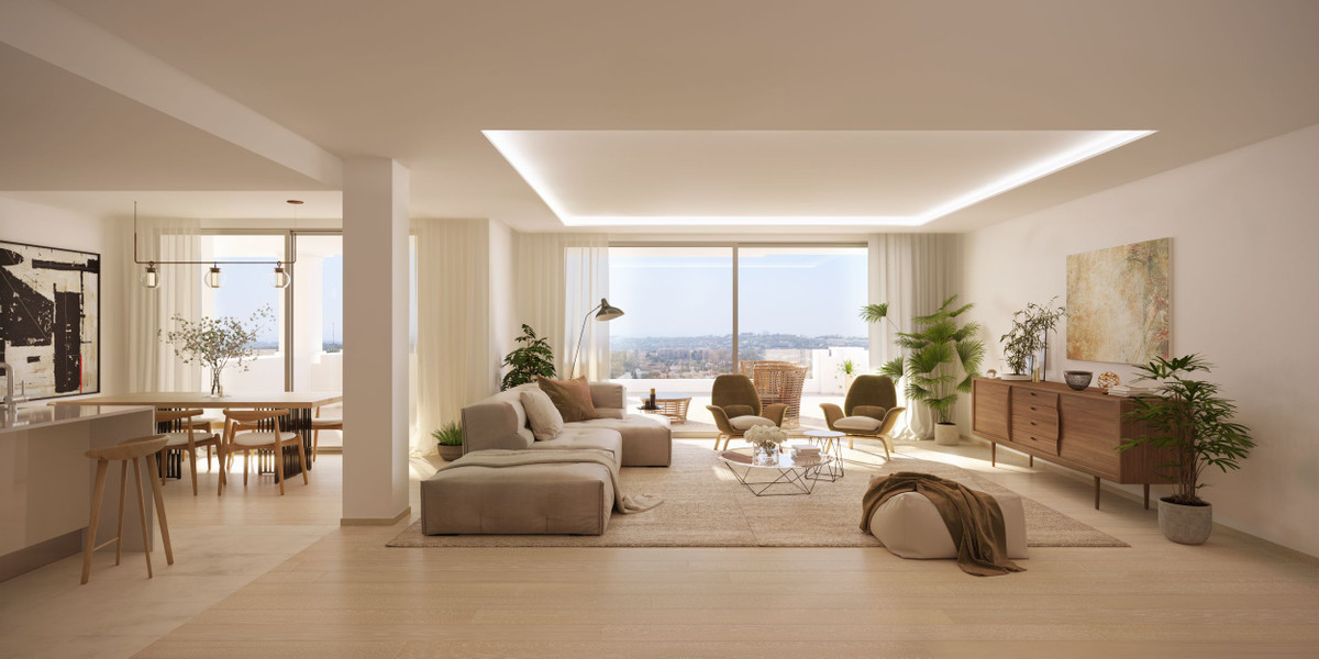 Ground floor apartments from € 565,000!  This modern residential project located in the Golf Valley , Spain