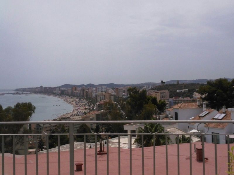 Ad-4019 .. Excellent 3 storey semi-detached house, fully furnished, has 2 terraces with sea views si,Spain