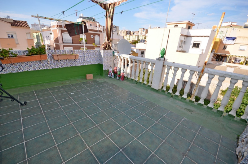 This is a lovely townhouse in Malaga, close to centre and just few steps from the beach.  Constructe,Spain