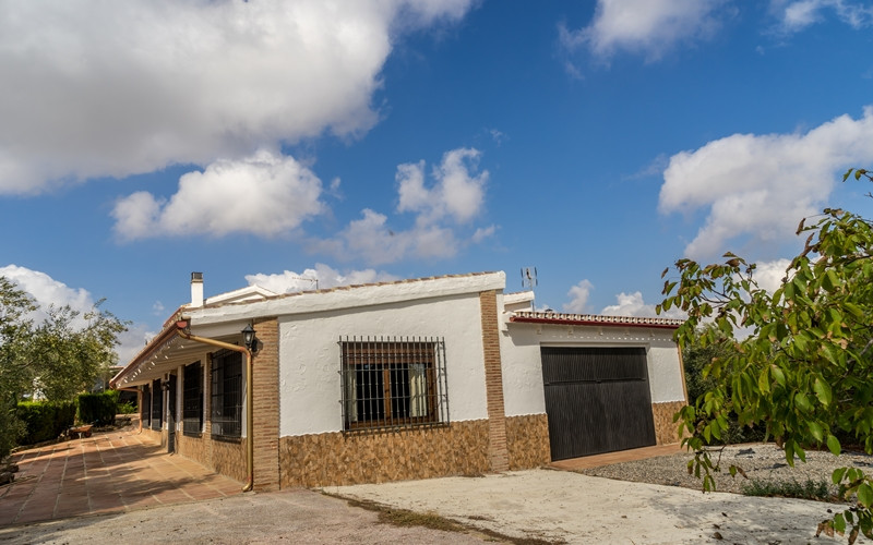 Large estate with 2 independent houses.  On the outskirts of the municipality of Alora, close to Car, Spain