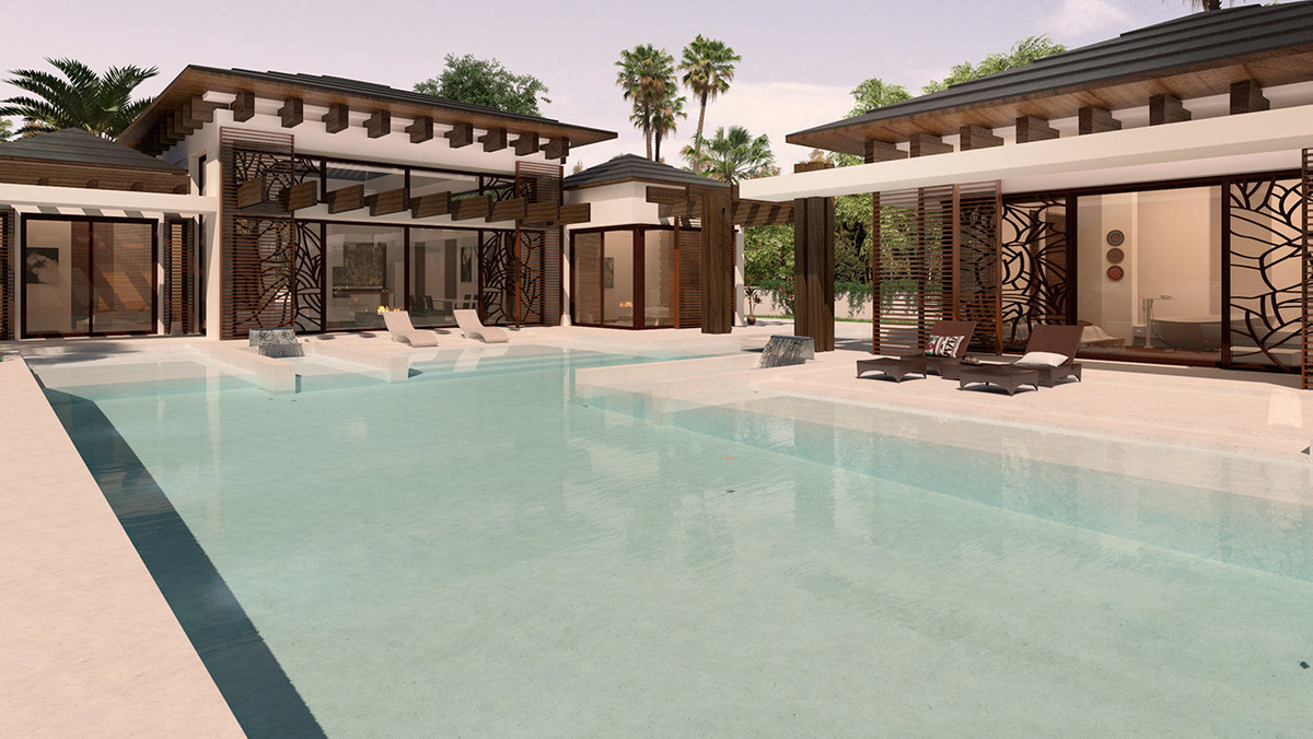 The villa is inspired in the warmth of the Thai and practicality of the contemporary style. It´s the,Spain
