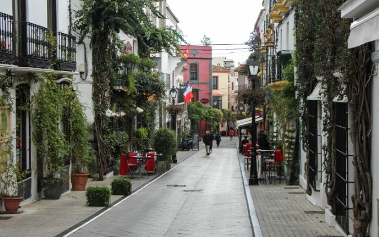 BUILDING IN THE CENTRE OF MARBELLA JUST BEHIND THE TOWN HALL, IN THE OLD TOWN.  TOTALLY REFORMED IN ,Spain