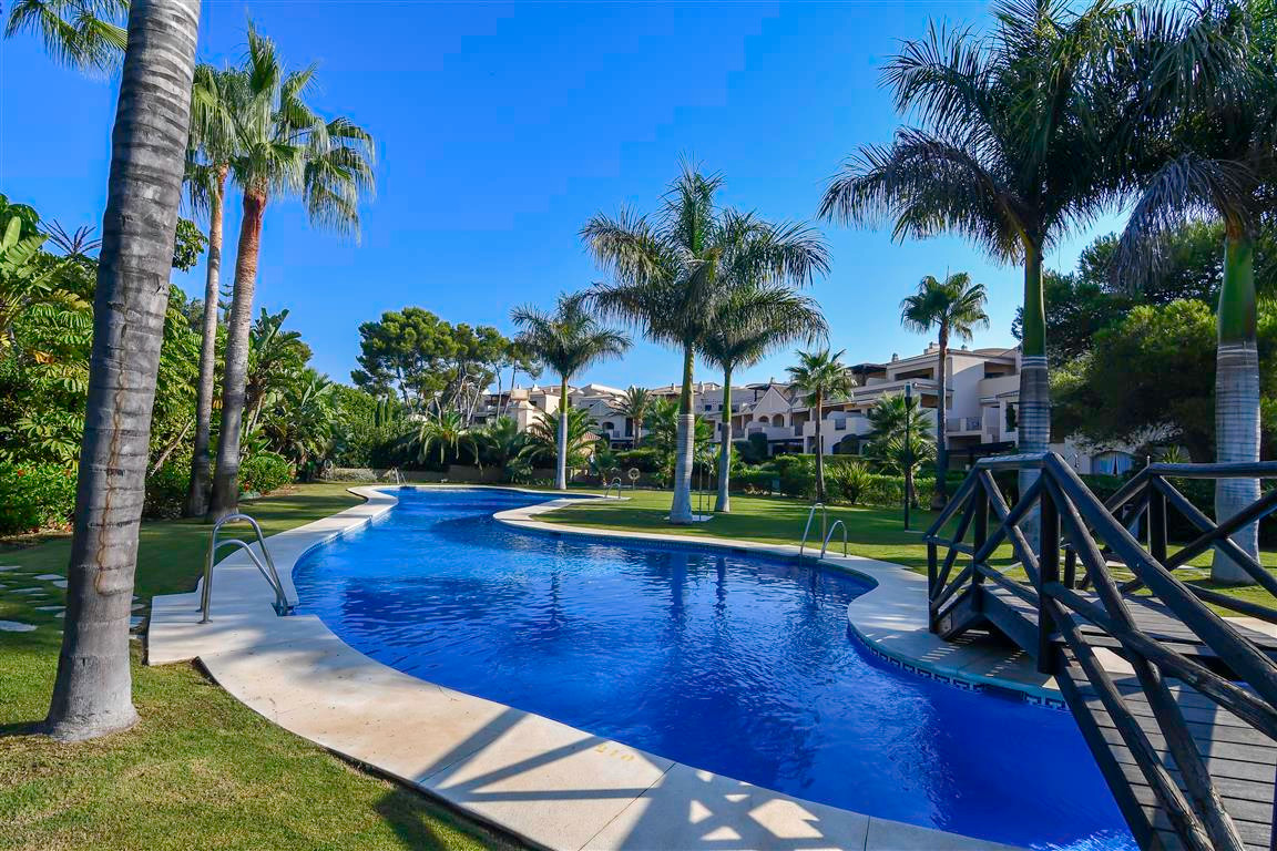 STUNNING 2 BEDROOM GARDEN APARTMENT - 2ND LINE BEACH PUERTO BANUS. This is a rare opportunity to own,Spain
