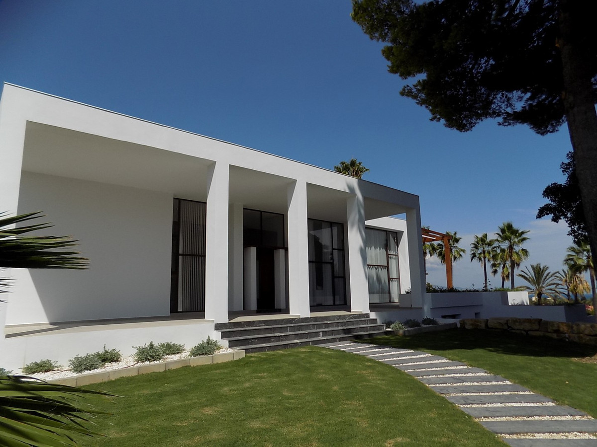 NEWLY BUILT CONTEMPORARY VILLA ALONG THE GOLDEN MILE  This recently finished construction was comple,Spain