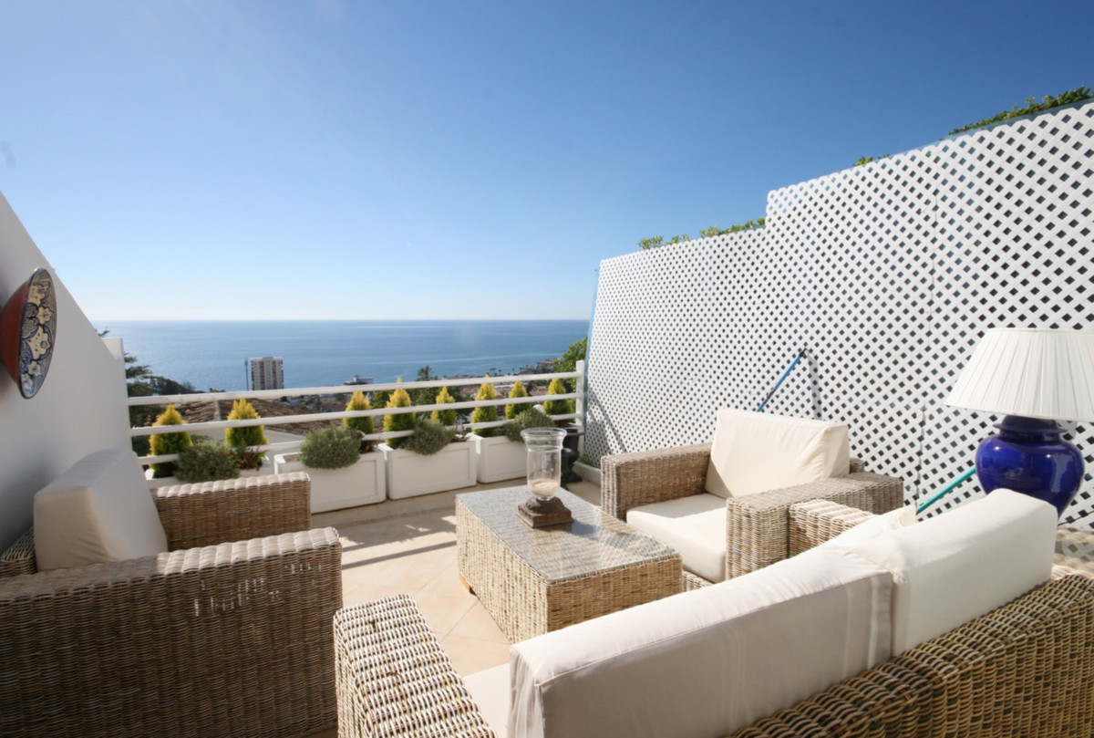 Stunning studio apartment with panoramic south facing views to the Mediterranean Sea!  This property, Spain