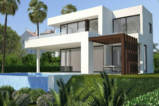 Villa on a hillside position, offering views to the Mediterranean Sea and mountain views. Situated n, Spain