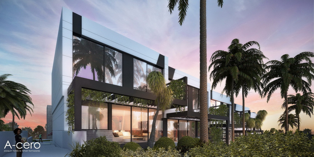 8 amazing new townhouses from only 309,900€ TORRE DEL MAR - NERJA  A new development on the 9th hole,Spain