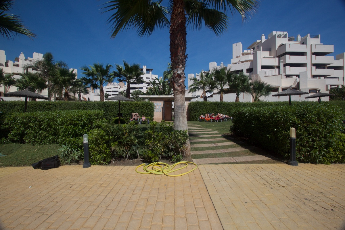 Apartment first line beach with sea views This charming two-bedroom  apartment is situated in a priv, Spain