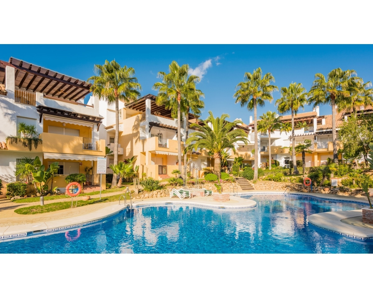 Beautiful and spacious apartment in Urbanization Las Arenas, on the beachfront, within Bahia de Marb, Spain