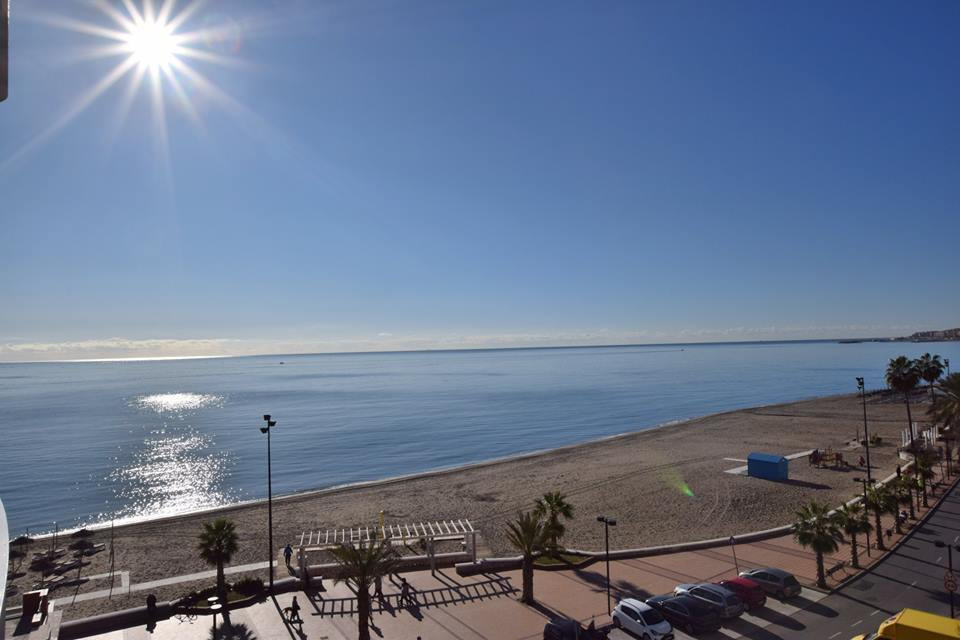 Beach front apartment located on the seafront of Fuengirola, Torreblanca South west facing terrace o,Spain