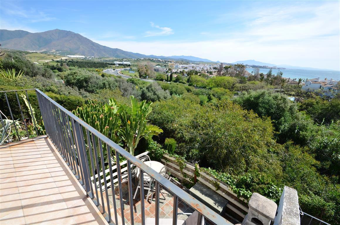 Rustic style villa, located in mature development on mountain side but very close to the beach,, wit,Spain
