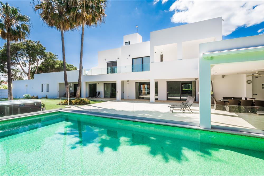 We are delighted to introduce you to this impressive home situated on the beachside in Atalaya, just, Spain