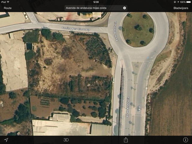 Plot of rustic land of 3852 m2 situated directly on the industrial area in Mijas Costa / Las Lagunas,Spain