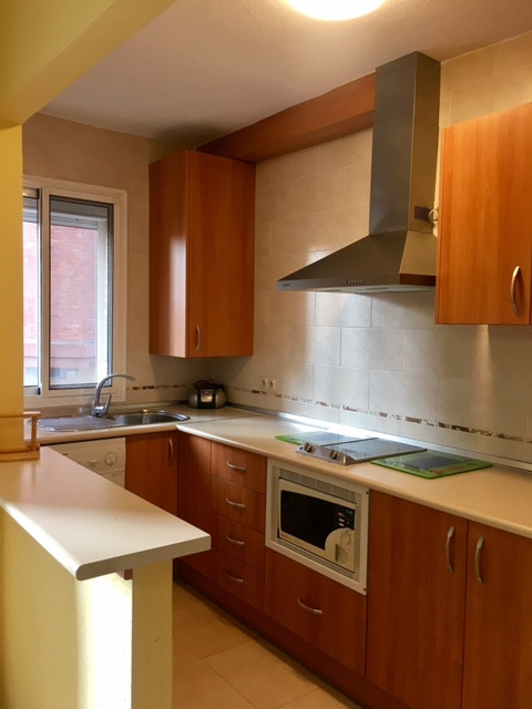 FLAT OF TWO ROOMS AND A BATHROOM, WITH AMERICAN KITCHEN AND LIVING ROOM, WEST ORIENTATION. FULLY FUR,Spain