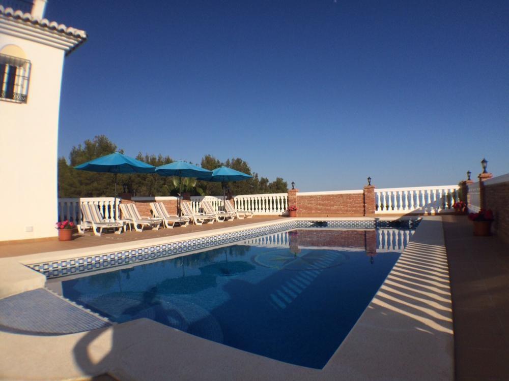 Detached Villa, Frigiliana, Costa del Sol East. 5 Bedrooms, 5 Bathrooms, Built 450 m², Terrace 94 m²,Spain