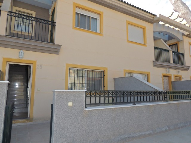 Recently built property in San Pedro del Pinatar, just 3 minutes walk from the beaches of El Mojon o, Spain