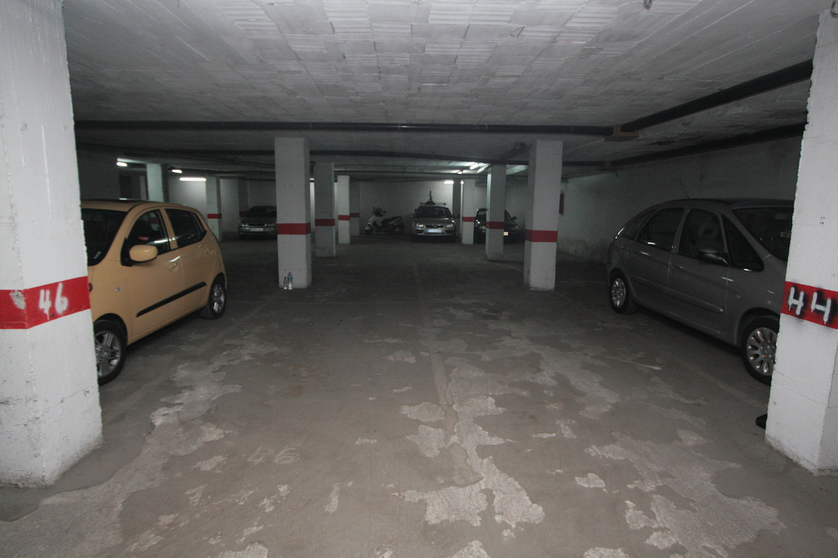 Garage place for sale in the center of Fuengirola, with measures of approximately 11 m2., Spain