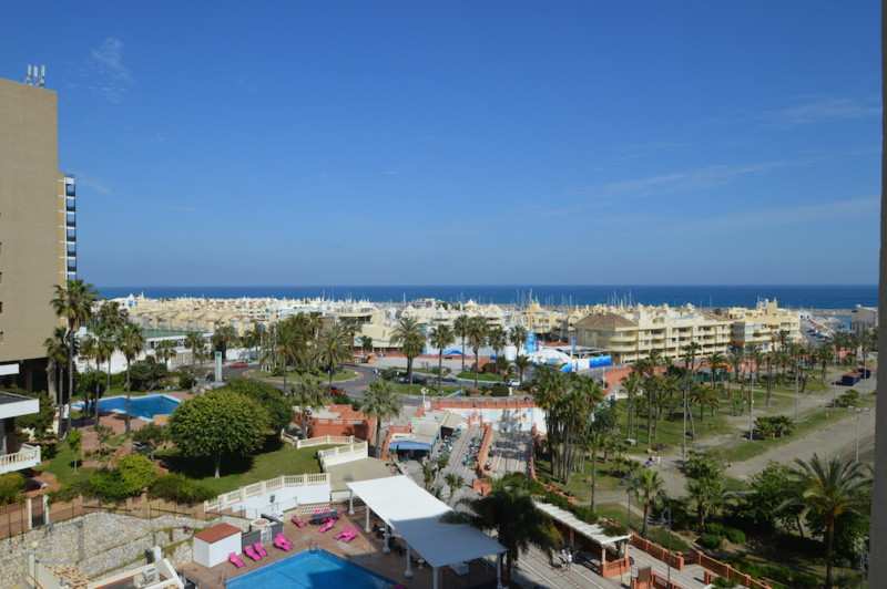 Situated beachfront in Benalmadena just a short stroll to the cosmopolitan port of Benalmadena.   Th, Spain