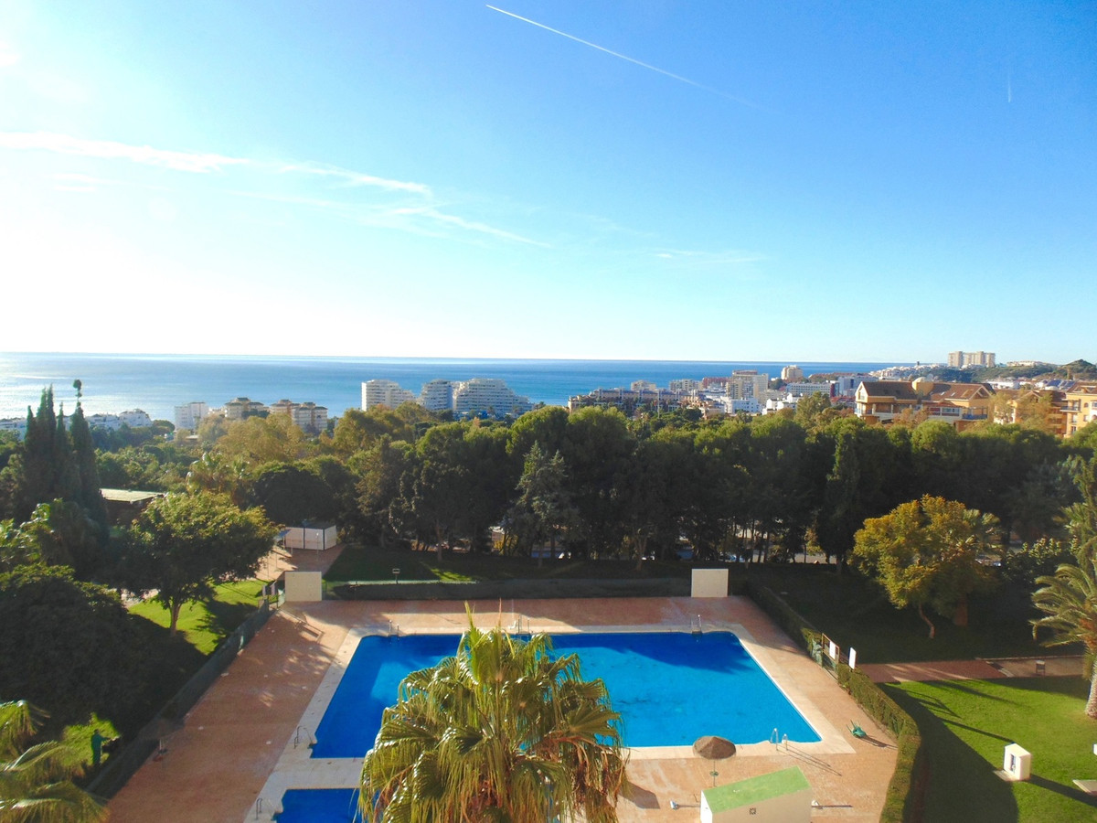 Enjoy spectacular views across gardens and pools to the blue Mediterranean and Africa from this sunn, Spain