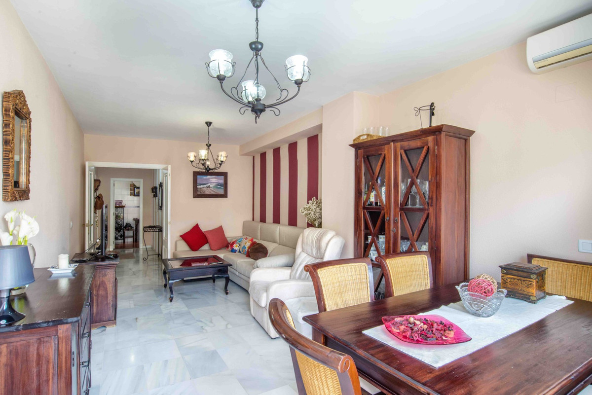 Delightful apartment in Nueva Andalucia. It comprises four bedrooms, two bathrooms, a living room, a,Spain