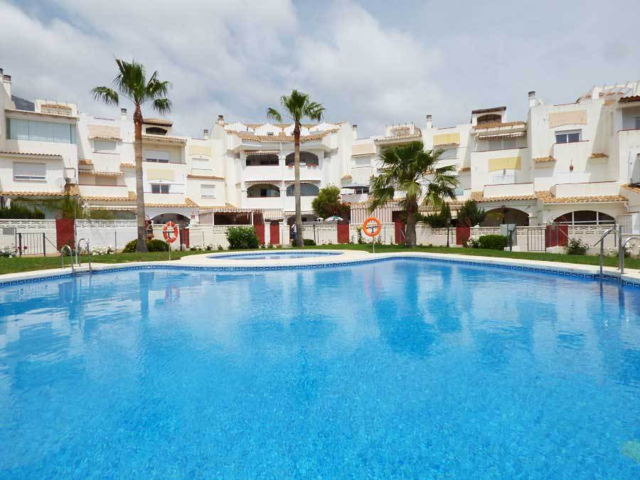 Very nice groundfloor apartment for sale with very large terrace with direct access to the pool and ,Spain