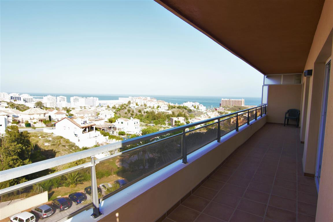 Amazing frontline golf 2 bed and 2 bath apartment with panoramic sea, mountain and Golf views!  This, Spain
