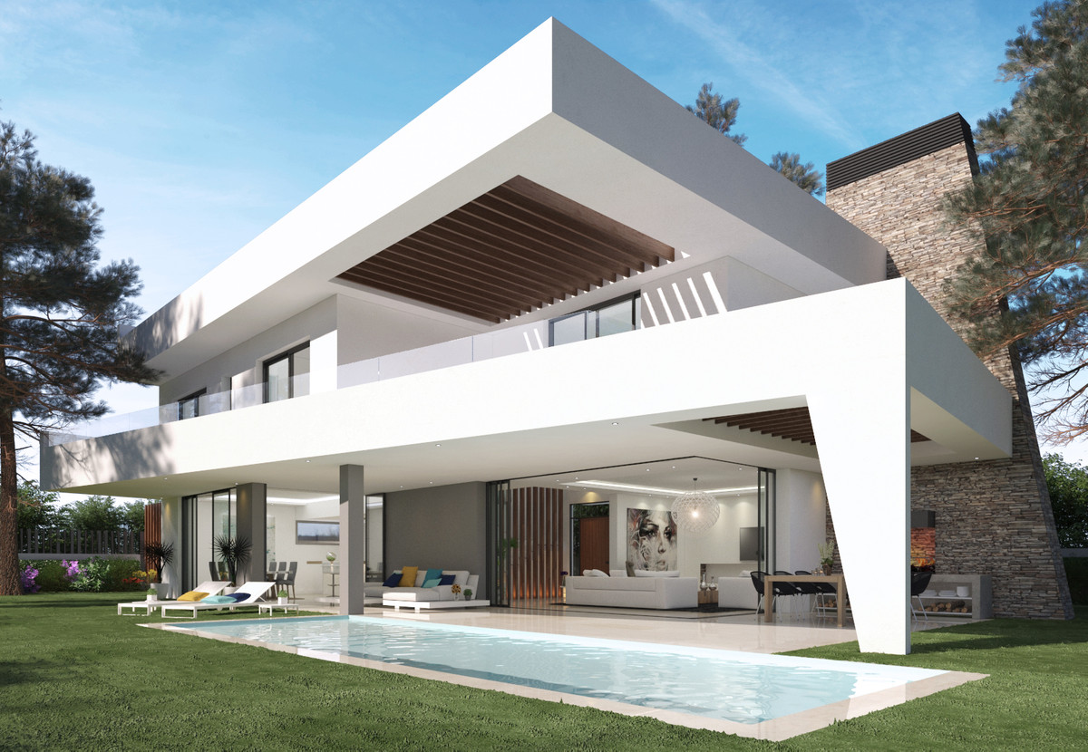 Magnificent modern villa for sale located in the exclusive area of Marbella East, Elviria. At only 7,Spain