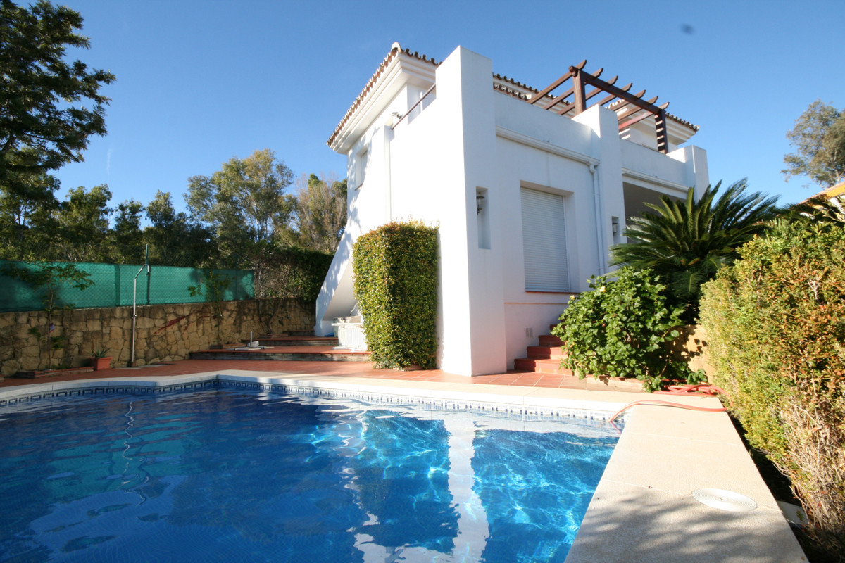 This stylish and modern house was built to a very high spec by the current owners, and is offered on,Spain