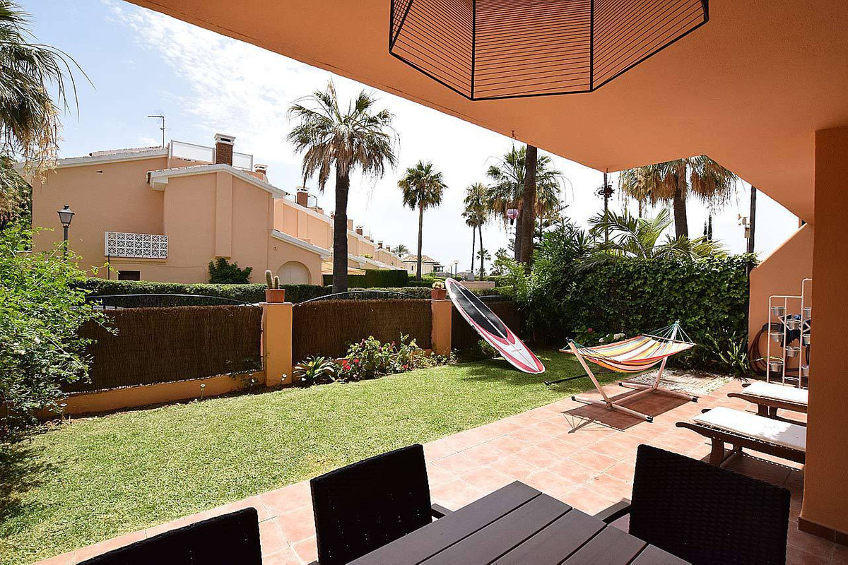 This beautiful ground floor apartment with large terrace and east orientation is located in one of t, Spain
