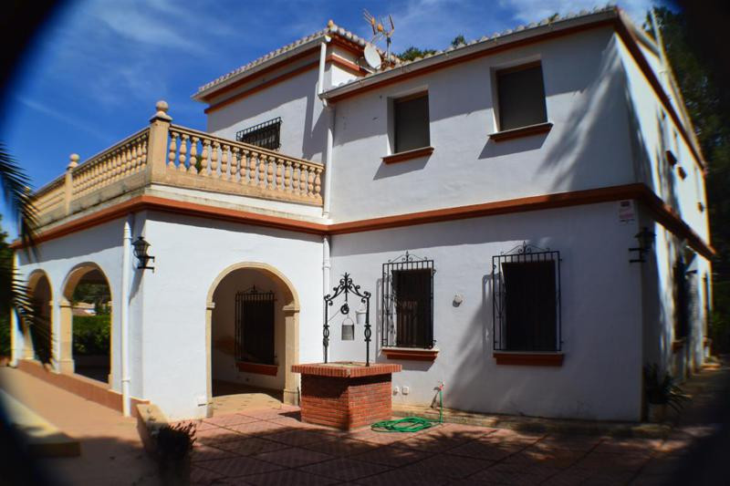 Stunning detached villa in Denia Las rotas aerea,the best and most wanted area of Denia . Denia is a, Spain