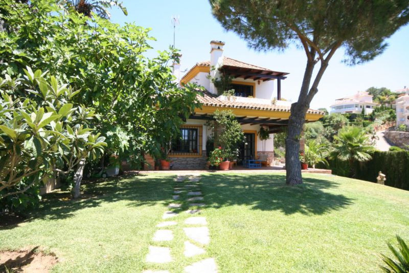 Beautiful rustic Andalucian villa in privatly electronic gated complex. Villa enters from a short pa,Spain