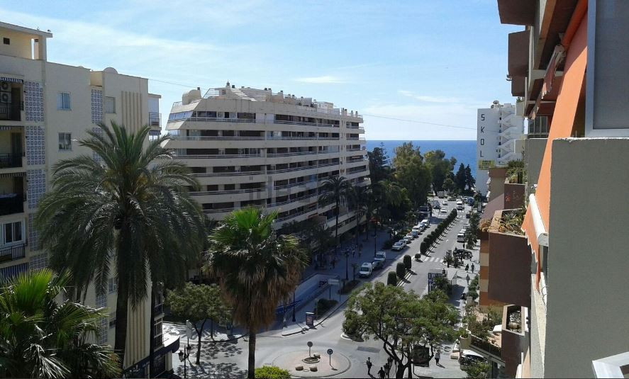 In the center of Marbella near the park of the Constitution, one bedroom apartment with  58 m2 built,Spain
