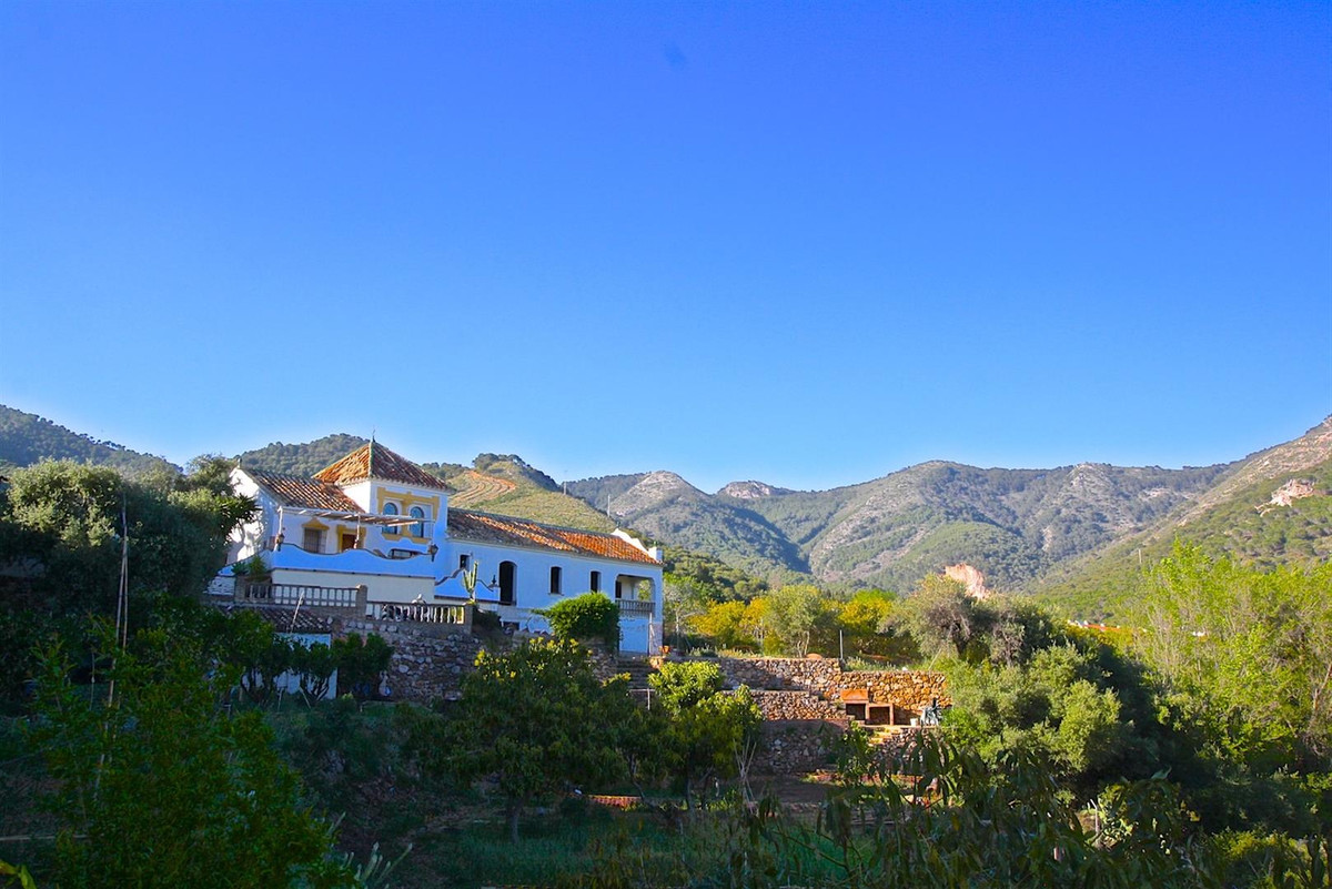A gorgeously tranquil and quaint country house bordering the beautifully white-washed town of mijas,,Spain