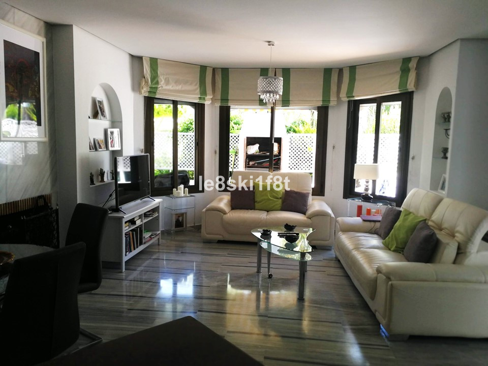 Ground Floor Apartment, Elviria, Costa del Sol. 2 Bedrooms, 2 Bathrooms, Built 136 m², Terrace 35 m², Spain