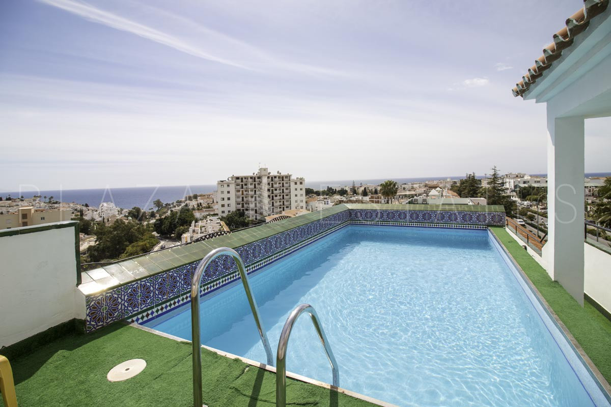 One bedroom apartment for sale in Nerja, urbanization Verano Azul. The property has a large terrace , Spain