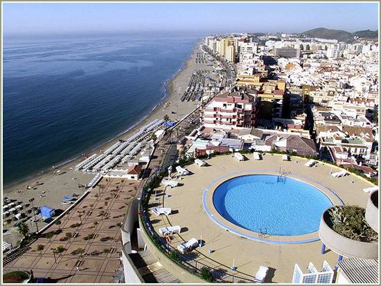 IBI; 145€ Studio ( 28 m2 ) located in Hotel Puerto Fuengirola 1 Bathroom Sea view Fitted wardrobes  , Spain