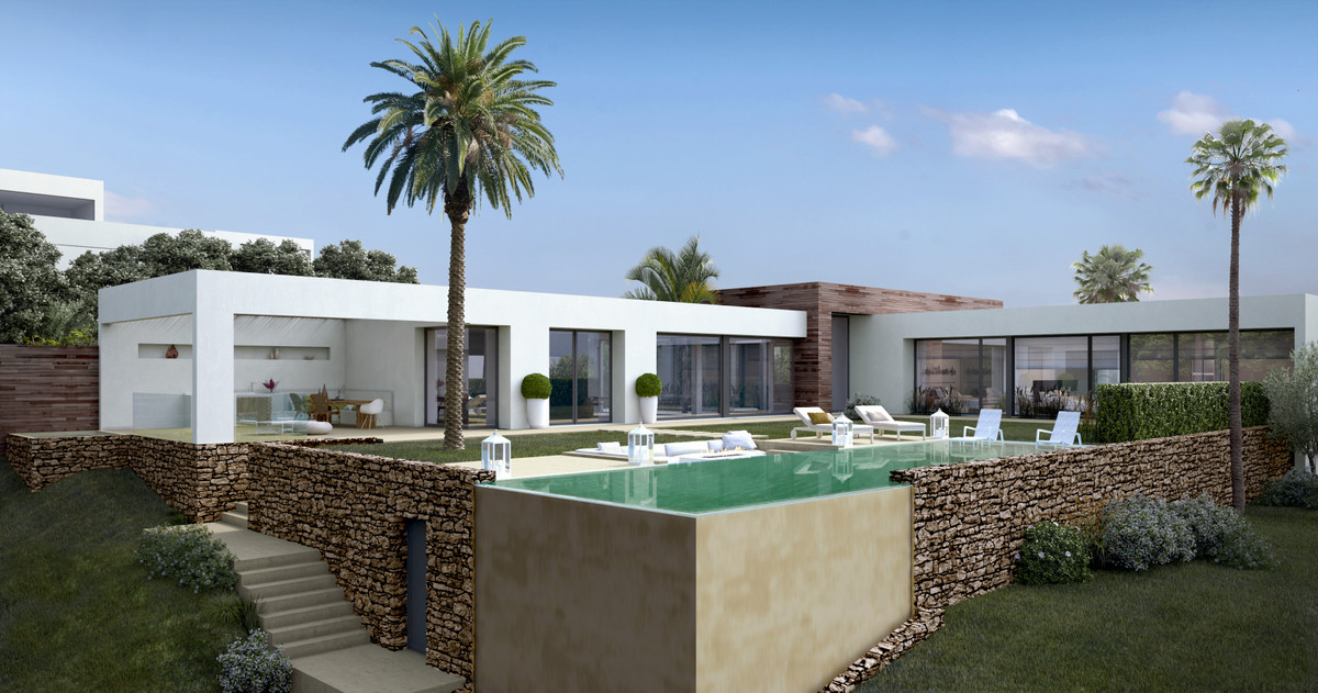 2 level Contemporary Designer Villa in the natural hill environment of Altos de Los Monteros,Marbell, Spain