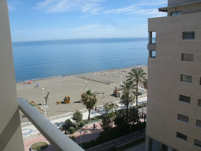 For sale brand new apartment in beachfront area west of  Malaga. New building,  year 2000. It has 13,Spain