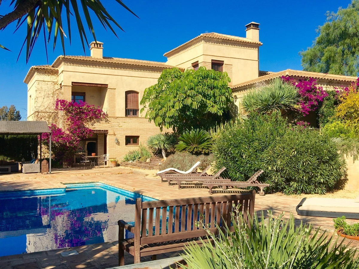 Extraordinary, characterful, grand villa in Busot with five bedrooms.  Meticulously and artistically, Spain